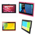 1X 7 Inch Kids Tablet Android Quad Core Dual Camera WiFi Education Game Gi V2F1