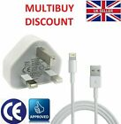 Genuine CE Plug & Cable Charger Lead For Apple iPhone 11 Pro X XS 8 7 6 6S Plus