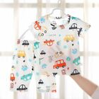 2PCS Kids Baby Boys Girls Toddler Outfit Clothes Summer T-shirt Tops+ Pants Sets
