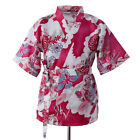 Summer Happi Sushi SHOP Chef Coat Serving Women Short Kimono Chef Uniform Jacket