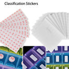 Sticky Embroidery Tool Package Label Blank Tags Number Stickers Distinguish