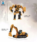 AOYI Transformation Devastator Roaring Overload Violent Bulldozer Hook Figure