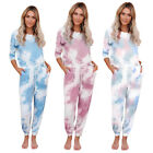 Loose Tracksuits Lounge Wear Women Casual Two Piece Set Autumn Street T-Shi X9V5