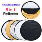 5 in 1 Photography Multi Disc Studio Photo Diffuser Light Reflector Oval Round.