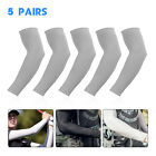 10 Pairs Cooling Arm Sleeves Cover Sport Basketball Golf  UV Sun Protection Men