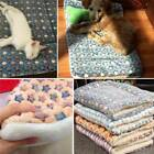 Cute Dog Bed Flannel Pet Mat Dogs Eco-Friendly Soft Cat Towel Cushion For Dog QP