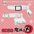 Demon Slayer: Kimetsu no Yaiba Agatsuma Zenitsu Cosplay Knife Cover  Belt Set