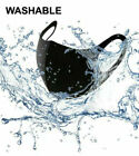 Kyпить FACE MASK PROTECTIVE COVER WITH FILTER AIR VALVE WASHABLE REUSABLE BREATHABLE UK на еВаy.соm