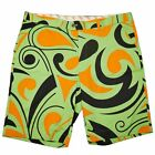 Loudmouth Men's Stretch Golf Shorts Groovy Retro Patterns Size 40 42 44