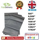 Grey Mailing Bags ALL SIZES - Strong Parcel Bags Poly Postal Bags - UK Seller