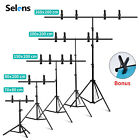 Kyпить Meking Adjustable T-Shape Backdrop Stand Kit Background Support System W/ Clamp на еВаy.соm