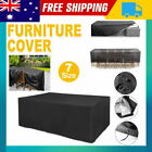 Waterproof In/outdoor Garden Patio Furniture Cover Chair Sofa Table Protector Au