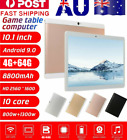 "10.1"" Tablet Pc Hd Android 9.0 4+64g Deca Core Wifi/wlan Dual Sim Camera Tablet"