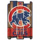 "Chicago Cubs Wood Fence Sign 11""x17"" [NEW] MLB Wall Man Cave Fan Wall on Ebay"