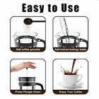 French Press Coffee Maker (8 cups, 34 oz), 304 Stainless Steel Coffee Press with