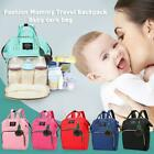 Solid Color Mommy Maternity Travel Backpacks Big Baby Nursing Diaper Nappy Bags
