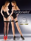 Lido cuban heel stockings with backseam by Gabriella, Made in Poland