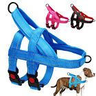 No Pull Big Dog Harness Reflective with Double Chest Straps Adjustable Pet Vest