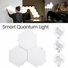 3 quantum led modern wall lights touch sensor bed cabinet stair night light lamp