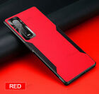 For OPPO Find X2 Pro Matte Leather Case Hybrid Soft TPU Cover + Screen Protector