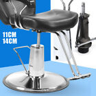 11cm/14cm Silver Barber Salon chair Replacement Hydraulic Pump W/ 58cm Base US