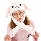 Funny Creative Bunny Rabbit Moving Ears Hat Cap Ear Cap Hood Hat for Party