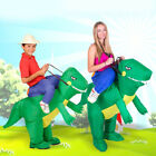 ride on dinosaur costume inflatable blow up outdoor toys fancy dress costume
