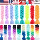 3 Packs 117 Colours Jumbo Hair Extensions Kanekalon Braiding Hair Twist Braids