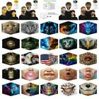 3d Printed Face Mask Protective Covering Washable Reusable Masks Adult Unisex