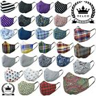 Relco Mask Face Covering Paisley Floral Tartan Check Stripe Mod Skin New