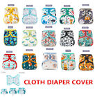 ELINFANT Baby Cloth Diaper Covers Printing Adjustable Washable Waterproof 3-15KG