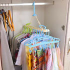 10 In 1 Multifunctional Ches Hanger Hook Organizer Space Save With 6 Clips