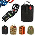 Durable Tactical MOLLE Rip Away EMT IFAK Rescue Pouch First Aid Kit Utility Bag