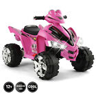 12V Battery Electric Kids Ride On ATV Quad Car 4Wheel Toy Music LED Light 2Speed