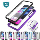 For Motorola Moto G Fast Case Clear Rugged Phone Cover Built-in Screen Protector