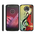 For Motorola Moto Z2 Force / Z2 Play Hybrid Dual Layer Hard Protective Slim Case