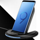 Qi Fast Wireless Charger Stand For Samsung Galaxy S10 S9 S8 Plus 8 Plus X XS XR