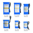 4800-20000mAh Rechargeable Portable Power Li-ion Battery DC 12V For Camera DVD