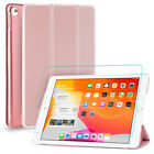 """For iPad 10.2"""" 2020,8th Generation,7th Gen Kickstand Case Cover,Screen Protector"""