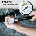 WEST BIKING Bike Mini Pump With Pressure Gauge Hose Ultralight MTB Bicycle Tire
