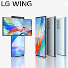 LG WING 5G LM-F100N Factory Unlocked Smartphone 8GB 128GB Dual Screen Swivel