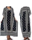 Casual Kaftan Dresses for Women African Long Beach wear moomoo One Size Plus