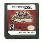 Soul Silver+Heart Gold For Nintendo DS 3DS NDSI NDSL NDS Lite Pokemon Game Card