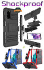 Case For Samsung Galaxy S20 Fe Fan Edition Hybrid Holster Clip Kickstand Cover