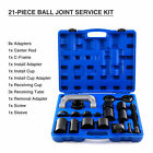 21PC C-PRESS BALL JOINT MASTER SET SERVICE KIT REMOVAL INSTALLER 2/4WD AUTO