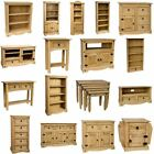 Corona Solid Pine Mexican Living Bedroom Dining Room Waxed Furniture Drawers