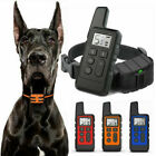 Dog Pet Electric Shock Training Collar Waterproof Rechargeable Remote 800m