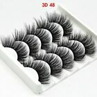 5 Pair🔥3D Mink🔥False Eyelashes🔥Wispy Cross Long Thick Soft Fake Eye Lashes UK <br/> ❤️CRAZY SALE!!!❤️BUY 2 GET 1 FREE❤️MUST ADD THREE❤️