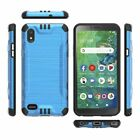 For Alcatel TCL SIGNA/TCL A2 A507DL Phone Case Brushed Hybrid Armor Rubber Cover
