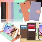 Pastel Plus Wallet Case for Samsung Galaxy A8 A6 2018 / A7 A5 A3 2017 / 2016